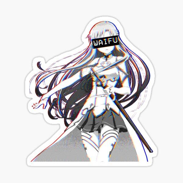 Asuna Waifu Sticker