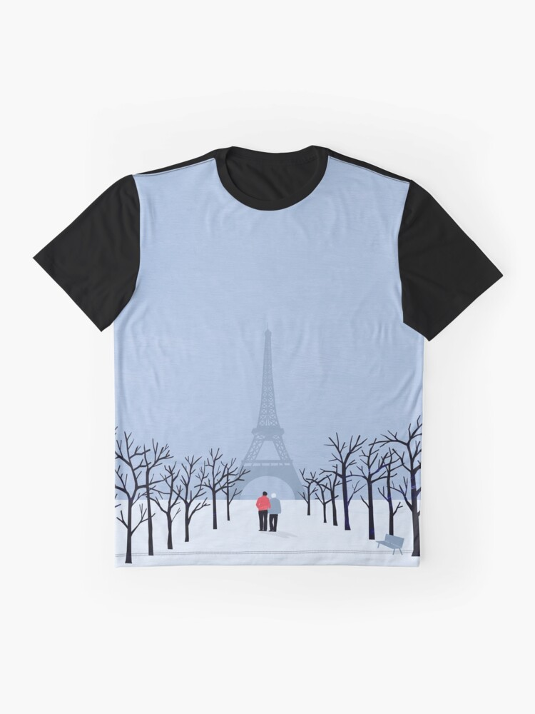Alternative Ansicht von Paris Grafik T-Shirt