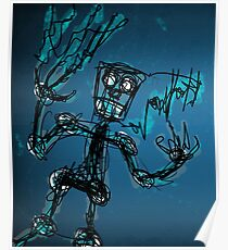 Robot Cartoon Poster