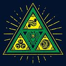 The Tribal Triforce by barrettbiggers