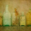 Five Bottles Gold by Barbara Ingersoll