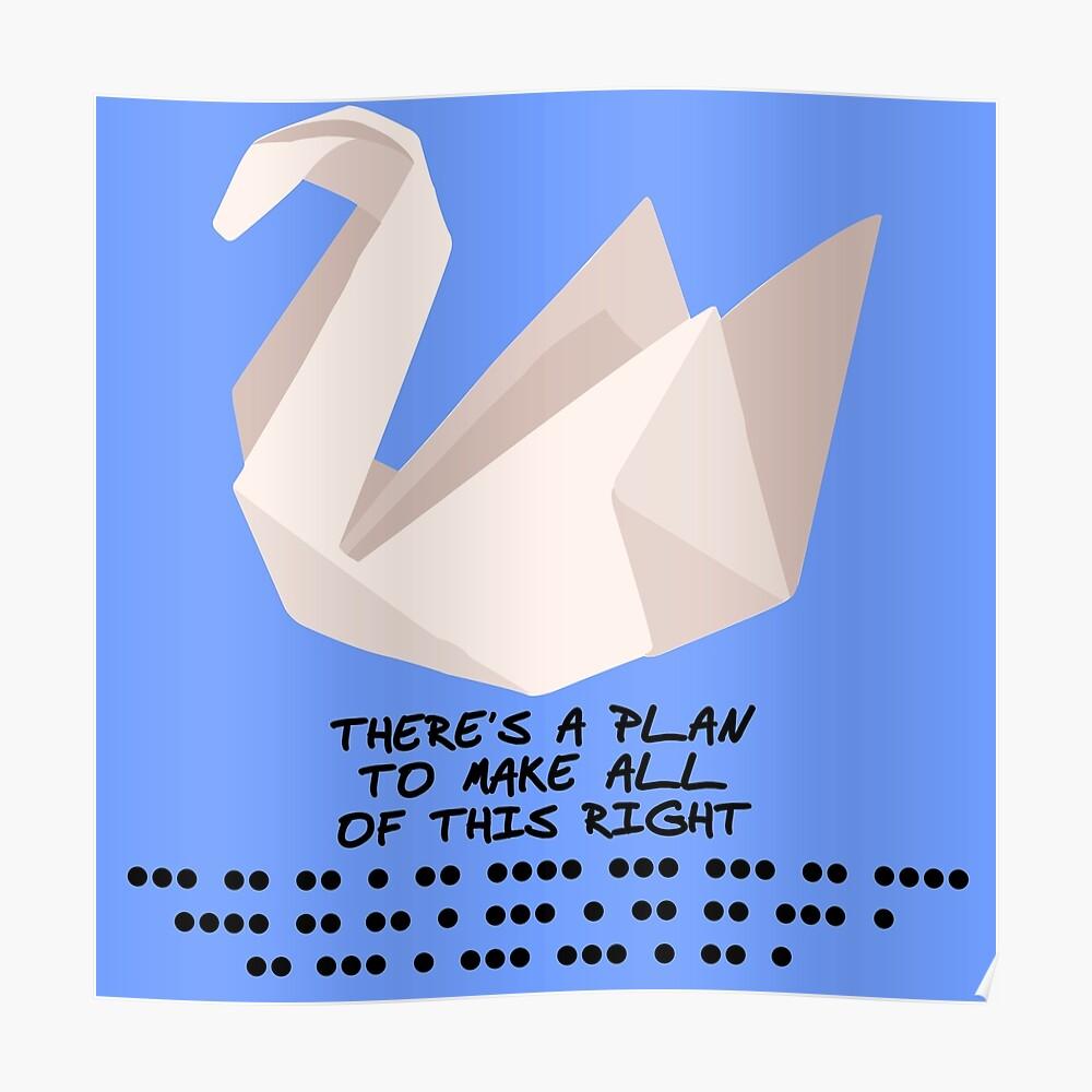 How to Fold an origami crane like Scofield's on Prison Break ...   1000x1000