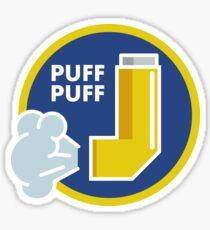 Puff Puff Sticker