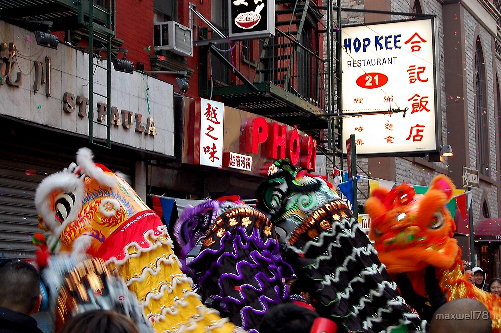 Chinese New Year, NYC No.2 by maxwell78