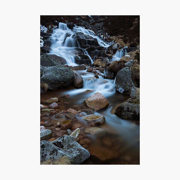 falls of glas allt Photographic Print