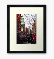 Chinese New Year, NYC No.3 Framed Print