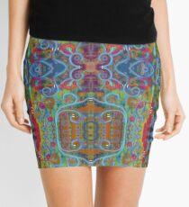 Rainy Sunday on High Ground Mini Skirt