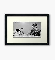 King Krule Framed Print