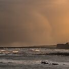 Tynemouth moody sunset by Angi Wallace
