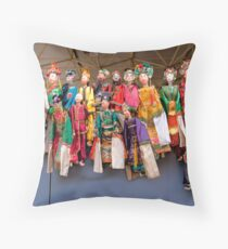 MARIONETTES Throw Pillow