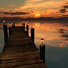 Sunset Landing by Ann Garrett