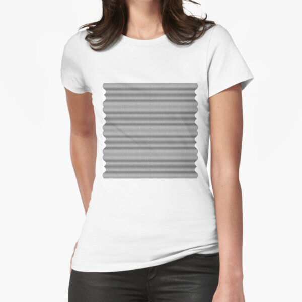 Emblem, insignia, symbol, device, annulus, collar, race, hoop Fitted T-Shirt