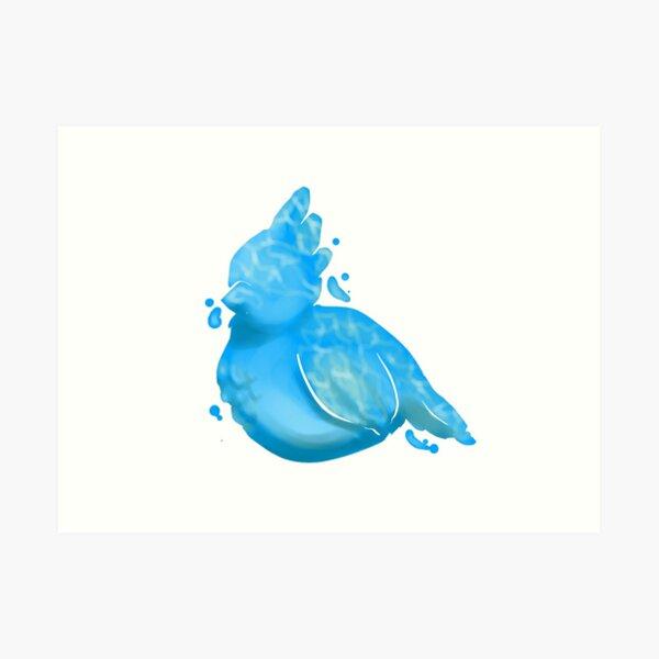 Water Birb Art Print