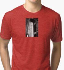 the fall of the house of Escher Tri-blend T-Shirt