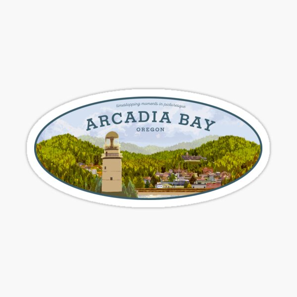 Life is Strange - Arcadia Bay Logo (Day) Sticker