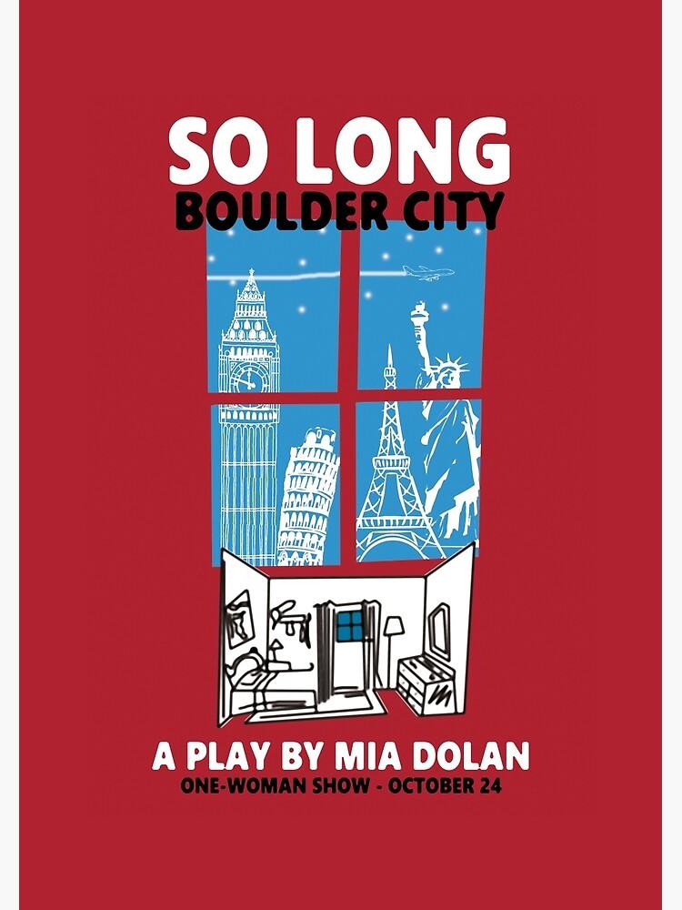 LA LA LAND SO LONG BOULDER CITY by VITAxART