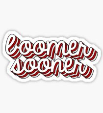 Boomer Sooner Retro Sticker