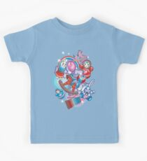 Children's Toys Colorful Cute Pattern and Illustration Kids Tee