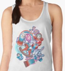 Children's Toys Colorful Cute Pattern and Illustration Women's Tank Top