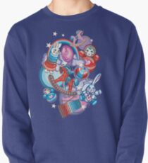 Children's Toys Colorful Cute Pattern and Illustration Pullover Sweatshirt