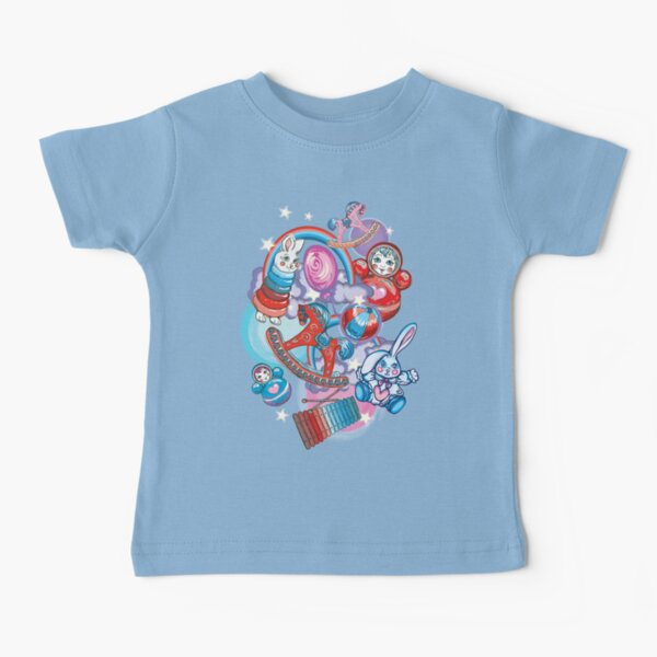 Children's Toys Colorful Cute Pattern and Illustration Baby T-Shirt