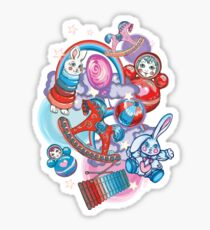 Children's Toys Colorful Cute Pattern and Illustration Sticker