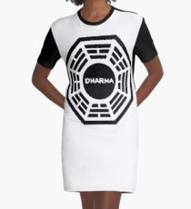 Department of Heuristics And Research on Material Applications Graphic T-Shirt Dress