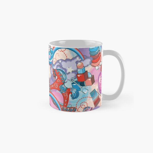 Children's Toys Colorful Cute Pattern and Illustration Classic Mug