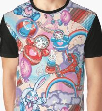 Children's Toys Colorful Cute Pattern and Illustration Graphic T-Shirt