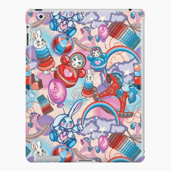 Children's Toys Colorful Cute Pattern and Illustration iPad Snap Case
