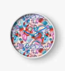 Children's Toys Colorful Cute Pattern and Illustration Clock