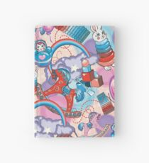 Children's Toys Colorful Cute Pattern and Illustration Hardcover Journal
