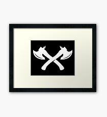 axe Framed Print