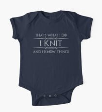 Knitting Gifts One Piece - Short Sleeve