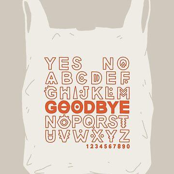 Plastic Bag Ouija Board by LordofMasks