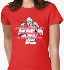 Lady MMA Fighter Women's Fitted T-Shirt