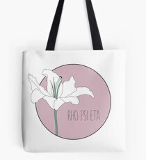Rho Psi Eta Lily - Dusty Pink Tote Bag
