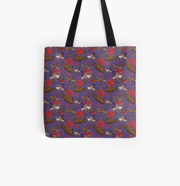 Military Forces All Over Print Tote Bag