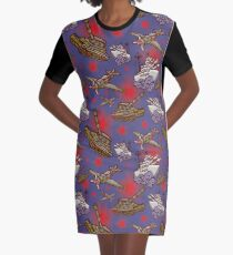 Military Forces Graphic T-Shirt Dress