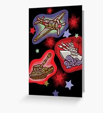 Military Forces Greeting Card
