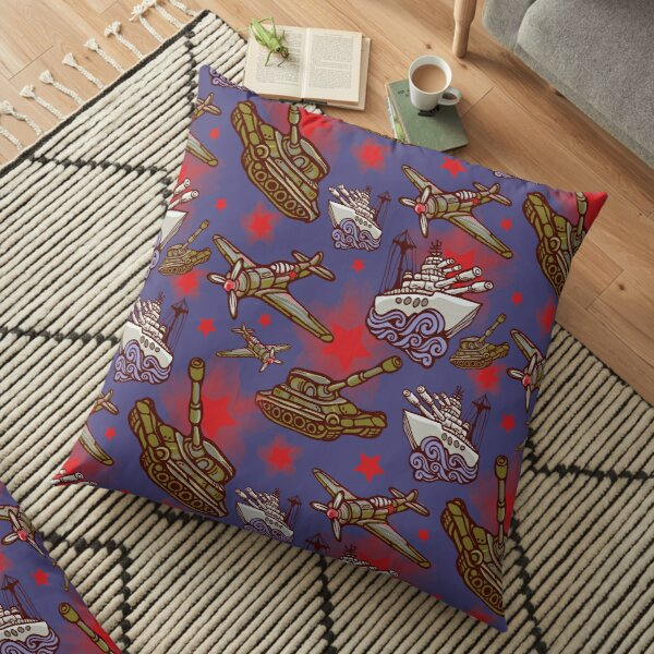 Military Forces Floor Pillow
