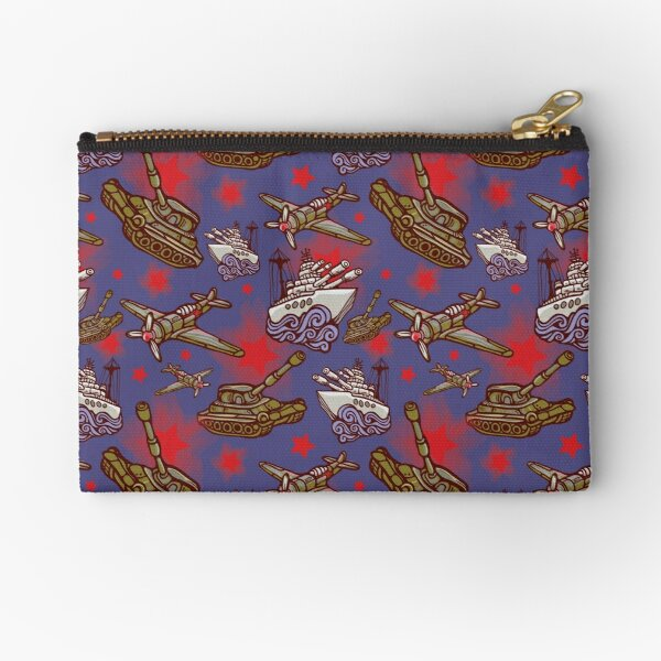 Military Forces Zipper Pouch