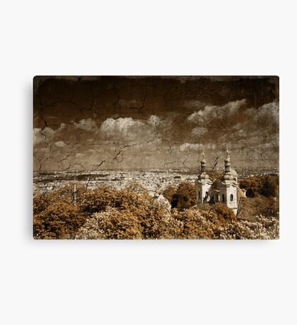 Greetings from Prague Canvas Print