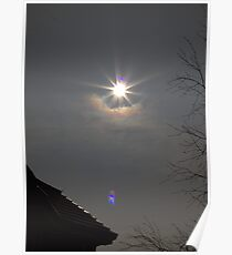 Partial eclipse Poster