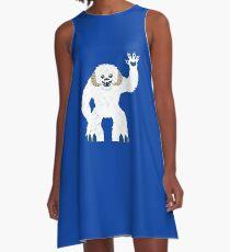 Cute Wampa - T-shirt A-Line Dress