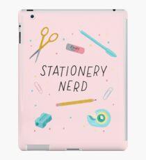 Stationery Nerd Geek Humor iPad Case/Skin