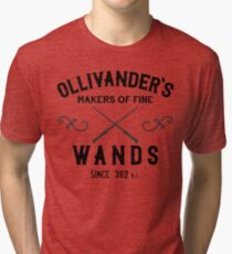 Ollivander's Wands Tri-blend T-Shirt