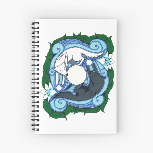 Chasing Balance Spiral Notebook