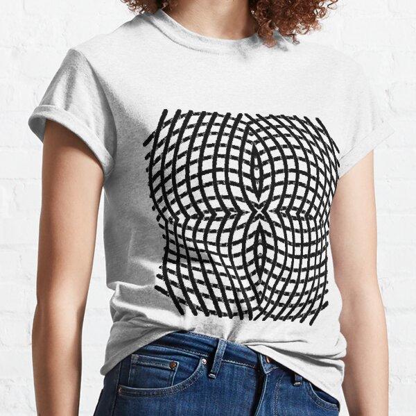 Circle, range, round, lap, disk, disc, circumference, ring, round, periphery Classic T-Shirt