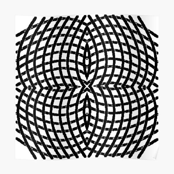 Circle, range, round, lap, disk, disc, circumference, ring, round, periphery Poster